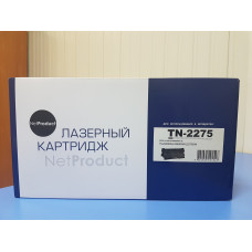 Картридж Brother TN-2275 NetProduct для Brother HL-2240R/ 2240DR/ 2250DNR/ DCP-7060DR, 2.6K